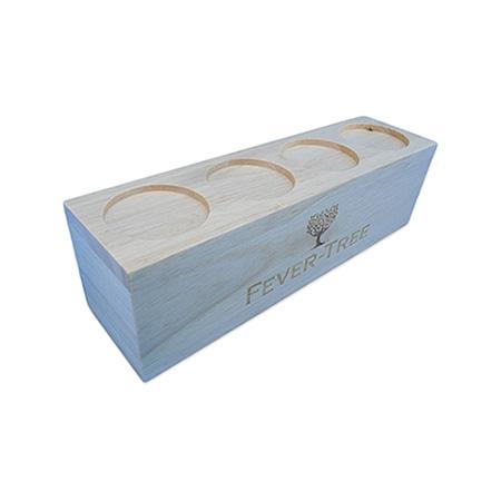 Raised Wood Block Flight Tray