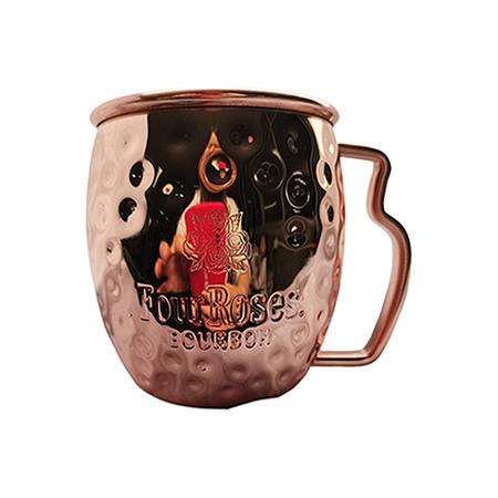 Four Roses Bourbon Copper Mug