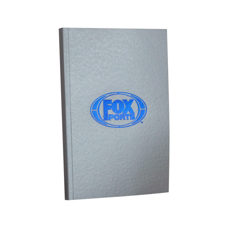 custom foil print notebooks