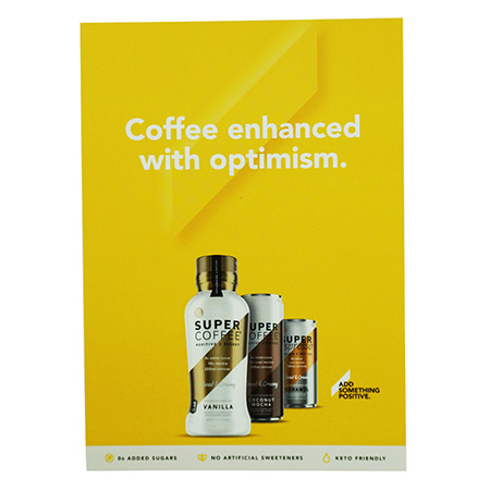 Super Coffee Counter Card