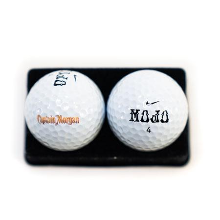 Gold Branded Golfball