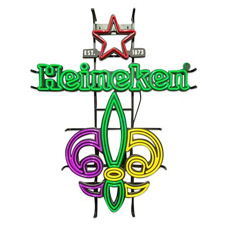 Neon Heineken Sign