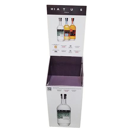 Hiatus Tequila Case Bin Display