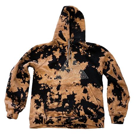 Custom Acid Wash Tie Dye Hoodie