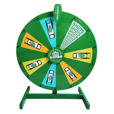 Custom Wheel Spinner