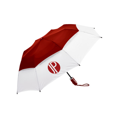 double canopy vented umbrella
