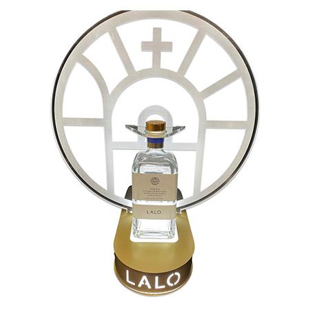 Custom Lalo Bottle Presenter