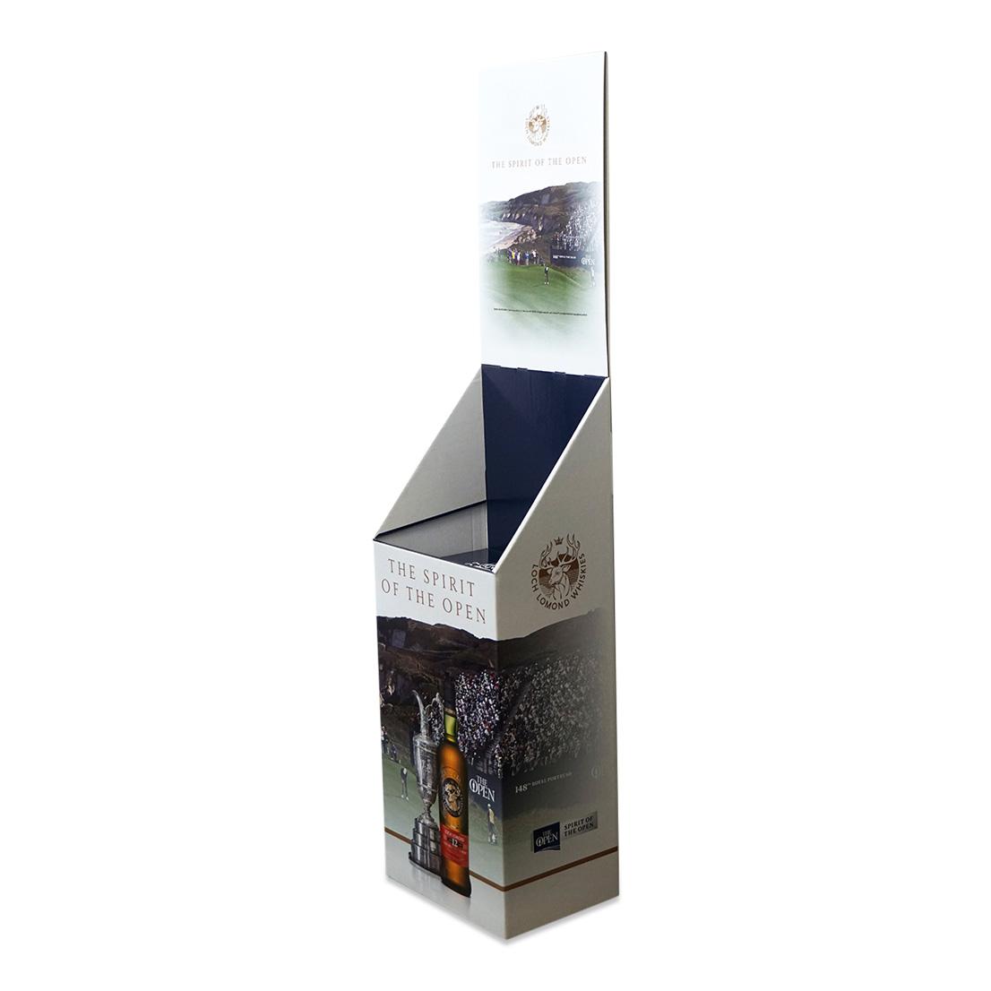 Loch Lomond Case Bin Display