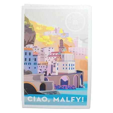 Postcard Recipe Card