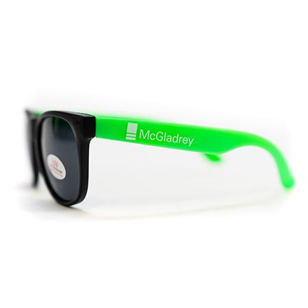 neon frame sunglasses