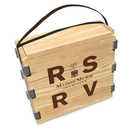 Wood Champagne Box