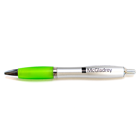 custom neon handle pen