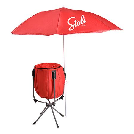 Cooler and Umbrella Dealer Loader