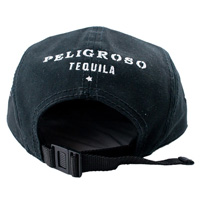 Peligroso-tequila-5-panel-camper-hat-back