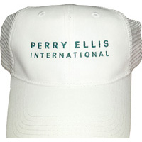 Perry-ellis-white-trucker-hat
