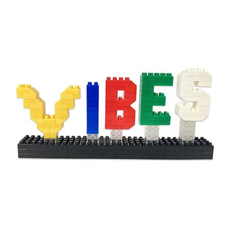 Acrylic Lego Counter Sign