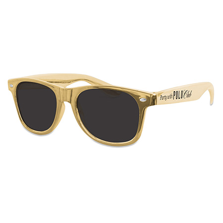 Custom Gold Polo Club Sunglasses