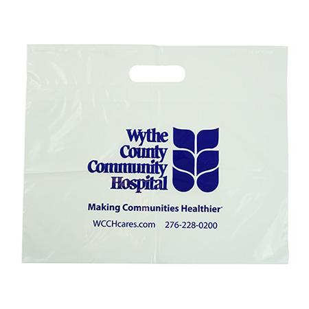 Plastic Hospital Retail Bag