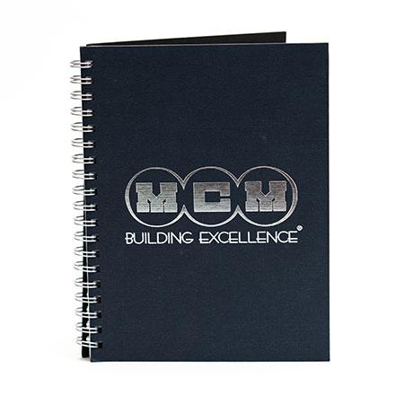custom branded spiral notebooks