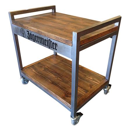 Rolling Sampling Cart