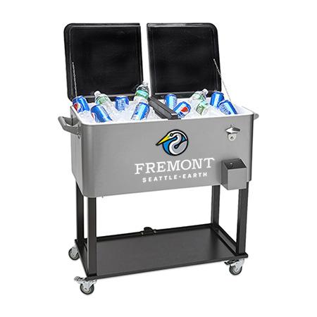 Rolling Cooler Cart Dealer Loader