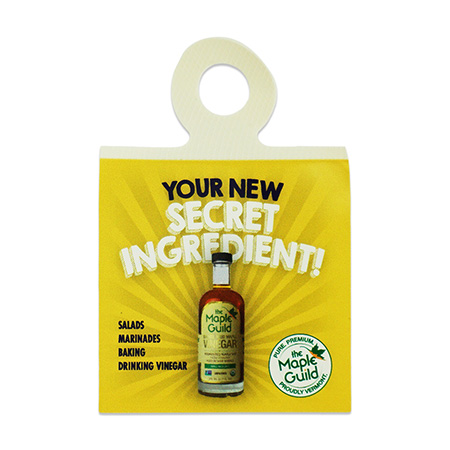 Secret Ingredient Promotion Bottle Necker