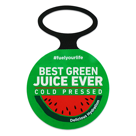 Cold Pressed Juice Promotion Bottle Necker