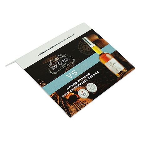 Cognac Shelf Talker