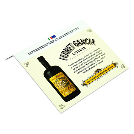 Liquor Promotion Shelf Talker