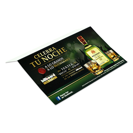 Whiskey Promotion Shelf Talker