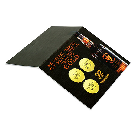 Distillery Promotion Shelf Talker