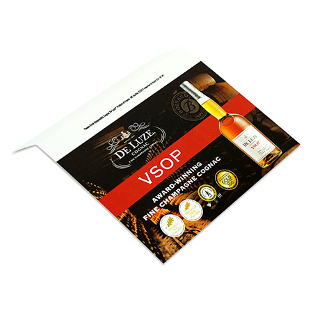 Champagne Cognac Shelf Talker