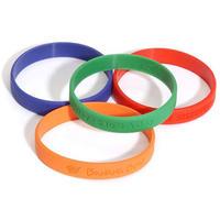Silicone-bracelet