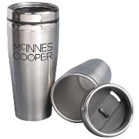 Silver-coffee-tumbler