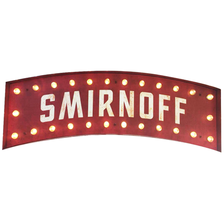 Marquee Light Up Sign Front
