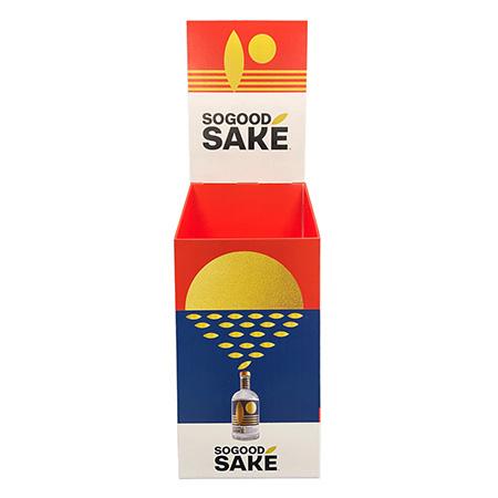 SoGood Sake Case Bin Display