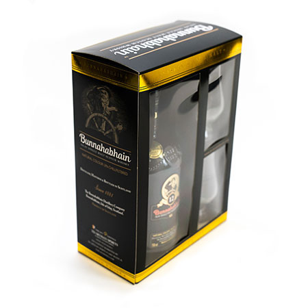 Value Added Packaging for 'Bunnahabhain' Single Malt Whiskey