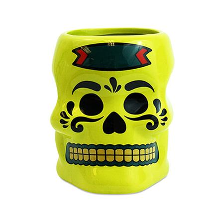 Sugar Skull Drinking Cup