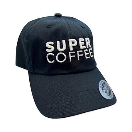 Super Coffee Embroidered Hat