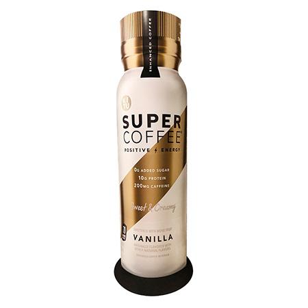 Super Coffee Vanilla Totem Display