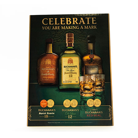 Bottle Promotion Counter Card