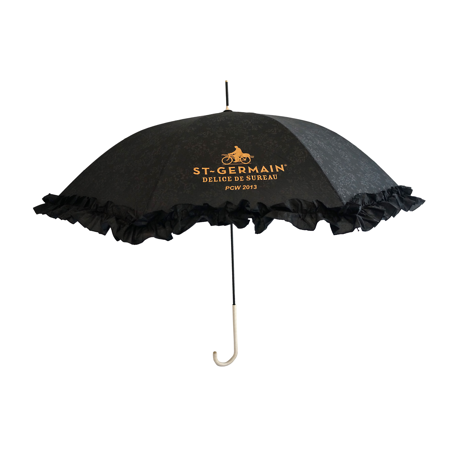 frilly umbrella parasol