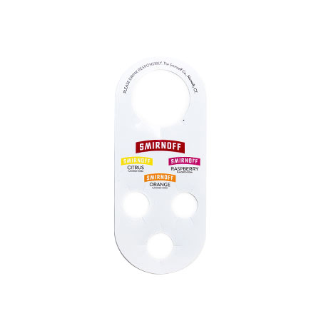 Triple Bottle Hanger Tag