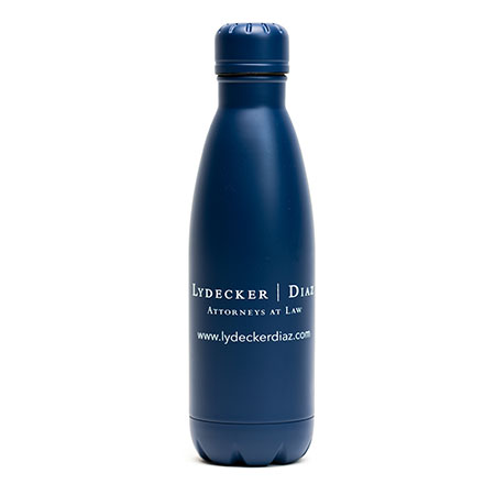 Stainless Steel Water Bottle with Screw Cap