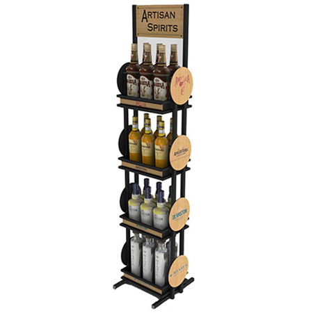 Wood Display Rack