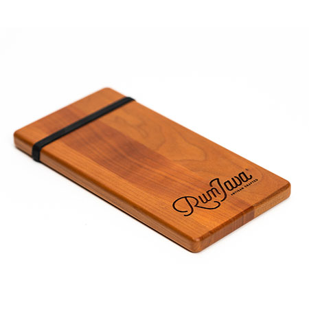 Custom Wooden Menu Holders