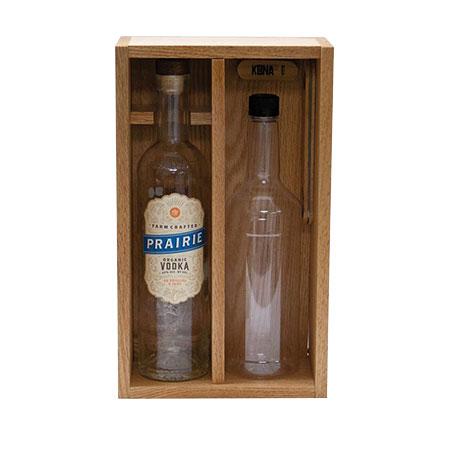 Wood Bottle Case