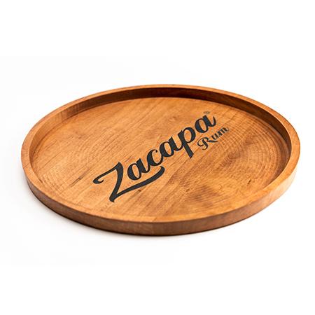 Custom Branded Wood Service Trays