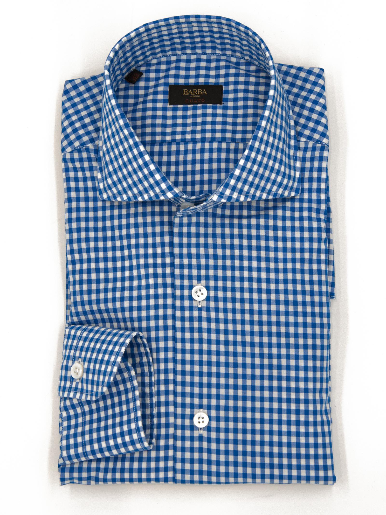 Camicia quadretto BARBA | 6 | K1U13 PZ5628A