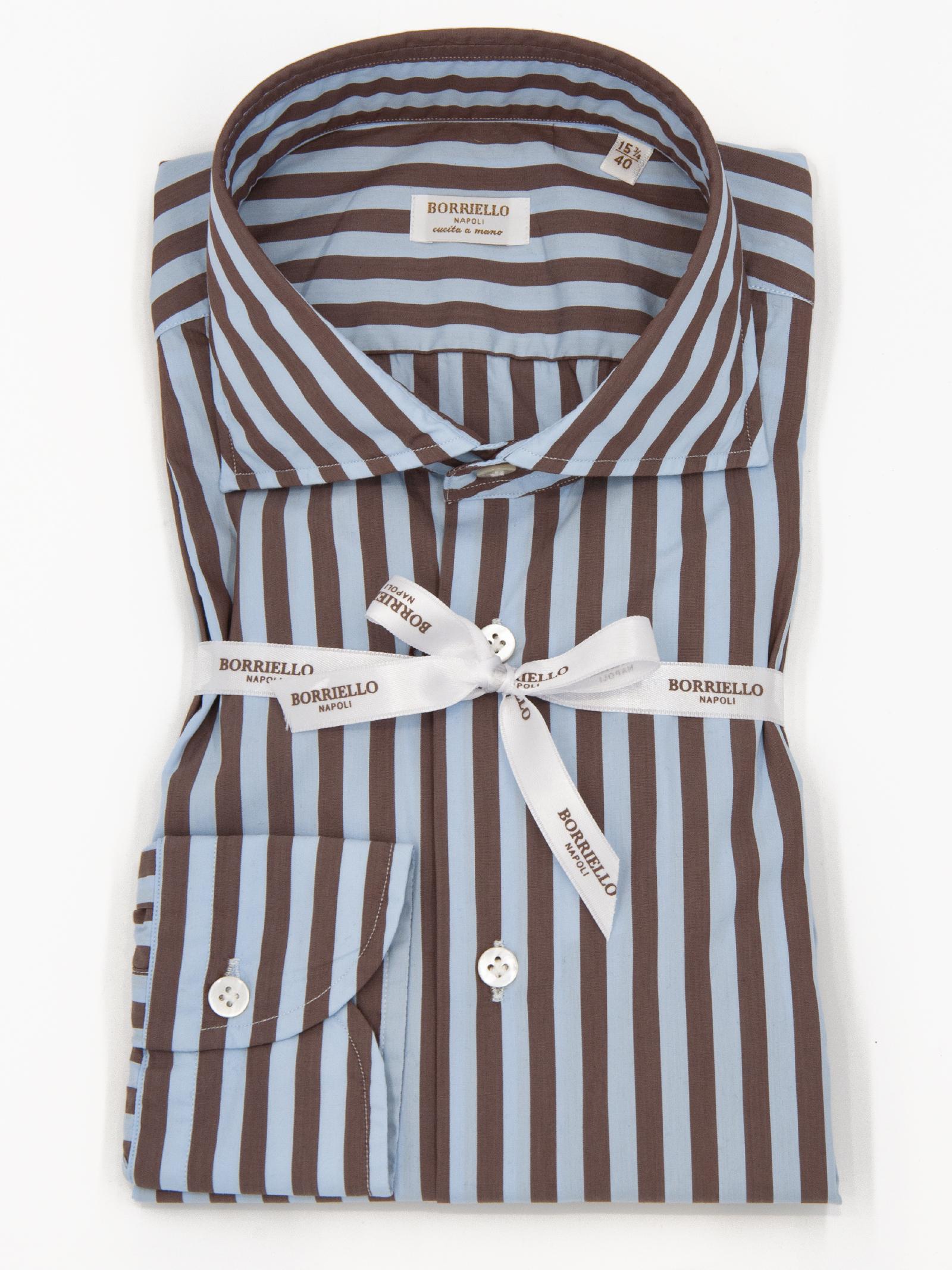 Camicia riga BORRIELLO   6   110173